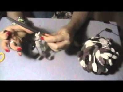 Bufanda.Collar de bolitas (TUTORIAL)