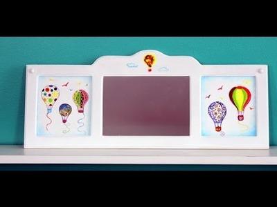 Como aplicar Dimensionales - Pintar una Flor - Diseños para Niños - Ana Gjurinovich