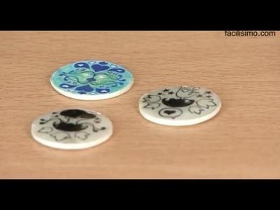 * Cómo hacer botones decorados | facilisimo.com