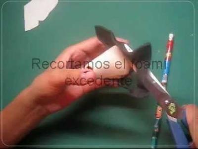 Como Hacer El Cuerpo De Las Fofuchas PaP Video tutoriales Artfoamicol moldes Patrones.wmv