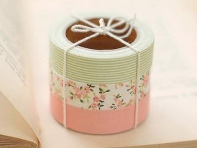 Cómo hacer guirnaldas con Washi Tape