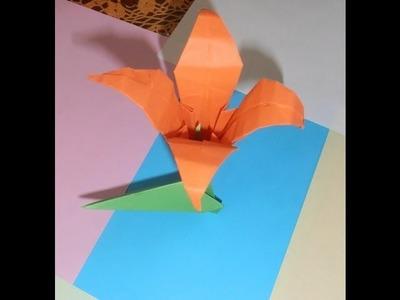 Cómo hacer la flor Iris con papel