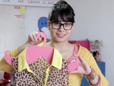 Cómo hacer un Gancho con Forma de Mostacho ♥♥. DIY - Hablobajito