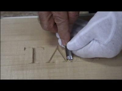 Curso Talla Letras (2) Letra A
