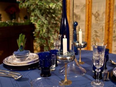 Decoracion de Mesa para Cena Intima Especial o de Fiesta