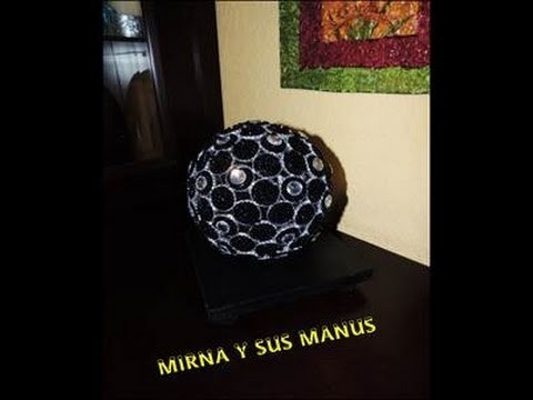 ESFERA DECORATIVA    RECICLANDO. .decorative sphere recycling