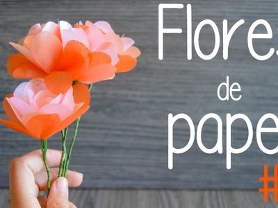 Flores de papel 2