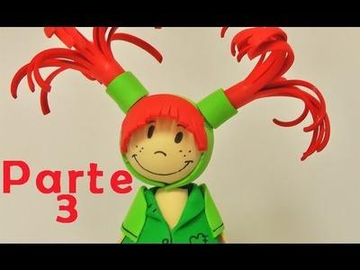 Fofuchas - muñeca de goma eva parte 3 - Manualidades para todos