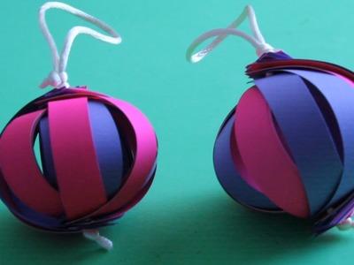 Hacer adorno 3D para el árbol de Navidad
