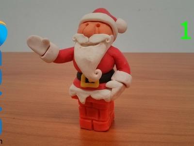 Hacer un Papa Noel de plastilina (1.3)