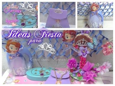 Ideas para Fiesta Princesa Sofia