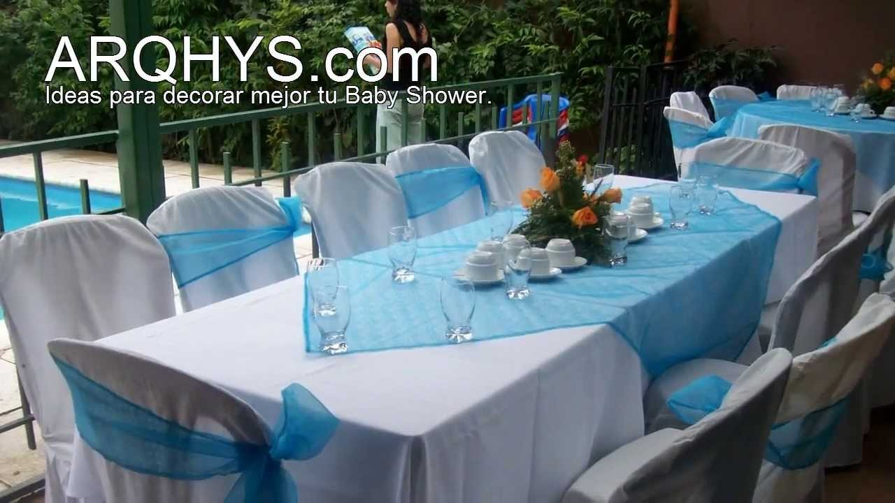 Ideas para un baby shower economico