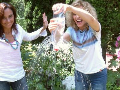 Juegos de Agua para Niños con Botellas Recicladas PET con Monica Vergara