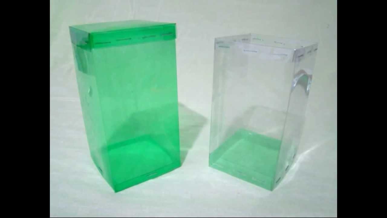 Manualidades - Caja hecha con botellas
