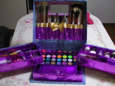 Manualidades: Caja Organizadora De Maquillaje - JuanCarlos960