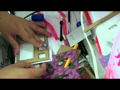 Manualidades: Como Hacer Neceser Organizador - JuanCarlos960