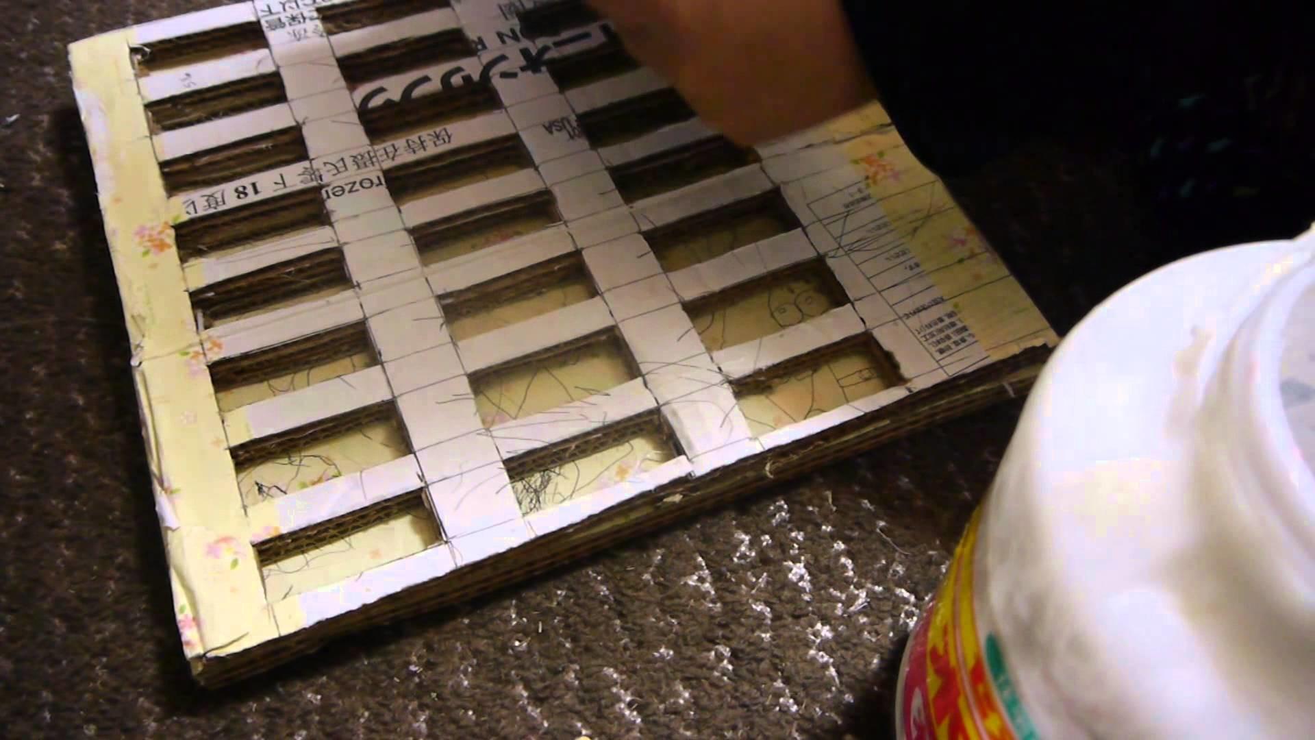 Manualidades: Organizador de esmaltes - Juancarlos960