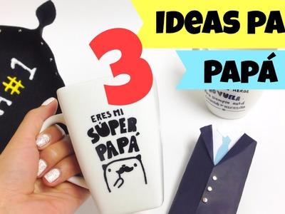 Manualidades para el día del padre,3 ideas sin gastar mucho dinero