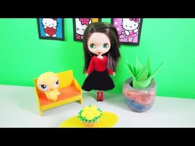 Manualidades para muñecas:  Cómo hacer un sofá para tus LPS