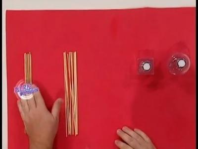 Martín Muñoz- Bienvenidas TV - Realiza un Difusor con Varillas Aromáticas