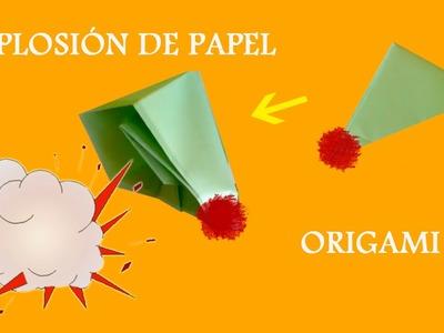 #Origami - Papel Explosivo (El Soplamocos)