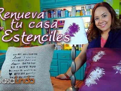 """Renueva tu casa con """"Estenciles"""" - Casa Linda"""