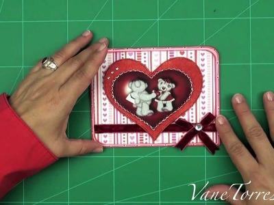 Tarjeta de San Valentin - Día de los Enamorados