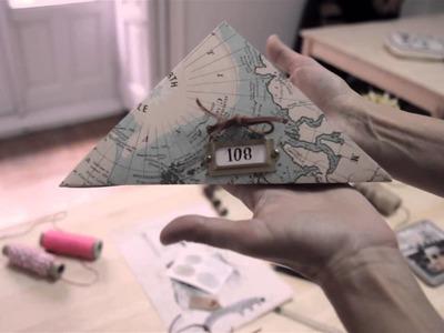 Tutorial El tarro de Ideas - Cómo hacer una cajita de regalo (Atelier 108)
