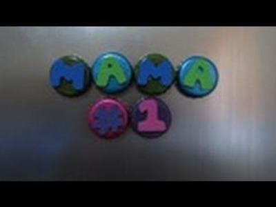 3.1 Manualidades: IMANES para la MAMA #1