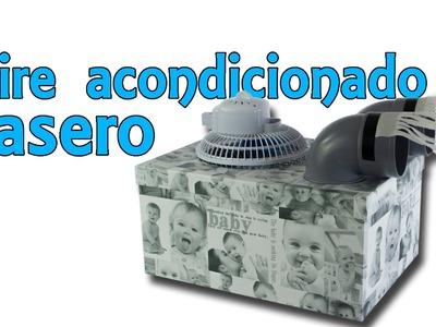 Aire acondicionado casero low-cost por 15 euros (Experimentos Caseros)