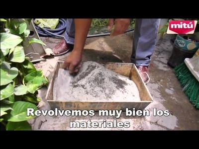 BASES PESADAS CASERAS PARA DECORACION CON GLOBOS