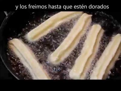 Churros sin gluten. www.canalsingluten.com .Churros gluten free