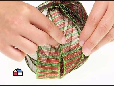 ¿Cómo hacer bolas y guirnaldas navideñas?