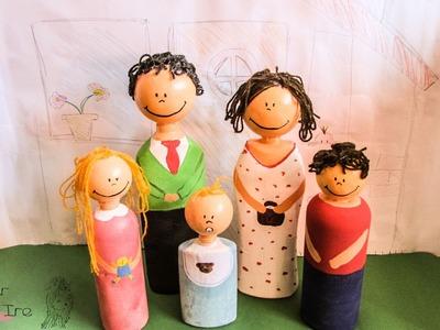 Cómo hacer muñecos con botellas de plástico