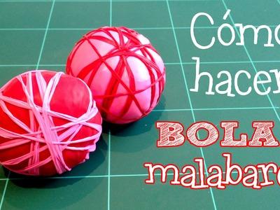 Cómo hacer pelotas o bolas de malabares con globos y arroz