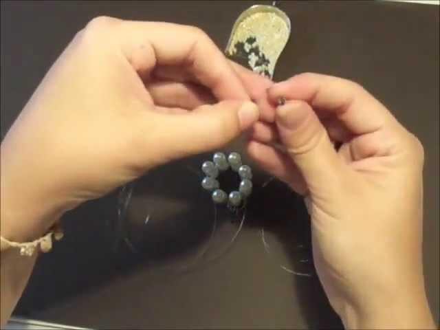 Cómo hacer un anillo de abalorios