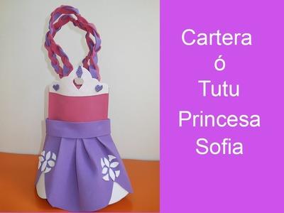 Como hacer un Tutu de Foami Princesa Sofia