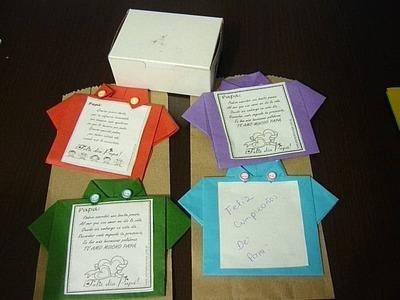 Como hacer unas hermosas tarjetas de regalo en papel No.021Manualidades La Horiga