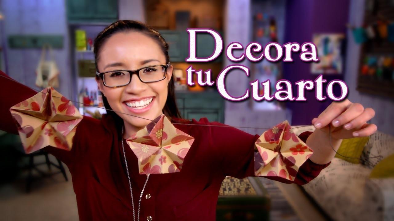 Decora tu Cuarto: Guirnalda de Estrellas de Papel - Crafting Studio