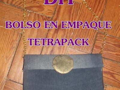 DIY: BOLSO EN EMPAQUE TETRAPACK