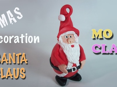 DIY Christmas ornaments: Santa Claus - Decoración para Navidad - Decorazione per Natale
