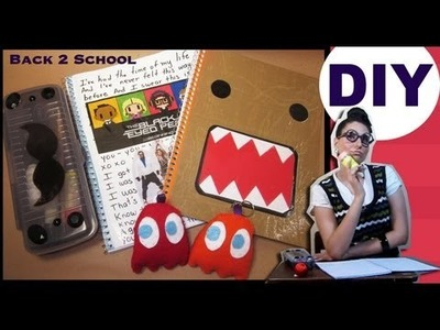 DIY: Ideas para DECORAR tus UTILES ((Regreso a CLASES)) BACK 2 SCHOOL