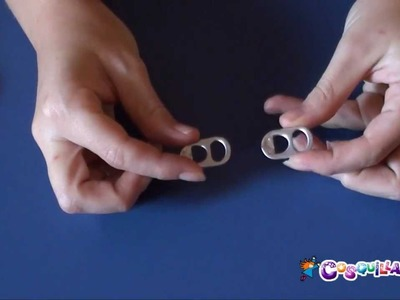 DIY Manualidades: Pulseras con chapas de latas. Reciclaje
