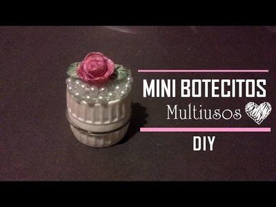 DIY♥ Mini Botecitos multiusos | RECICLAJE