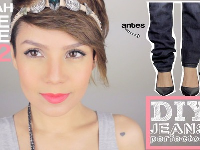 DIY: Pantalones mágicos - How to fix your jeans - MAIAH BITE SIZE #22