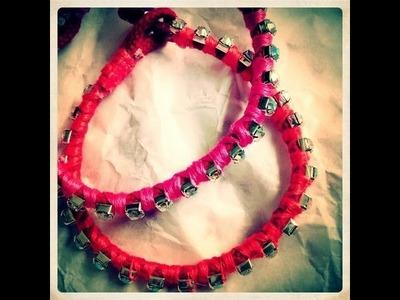 DIY Summer bracelet