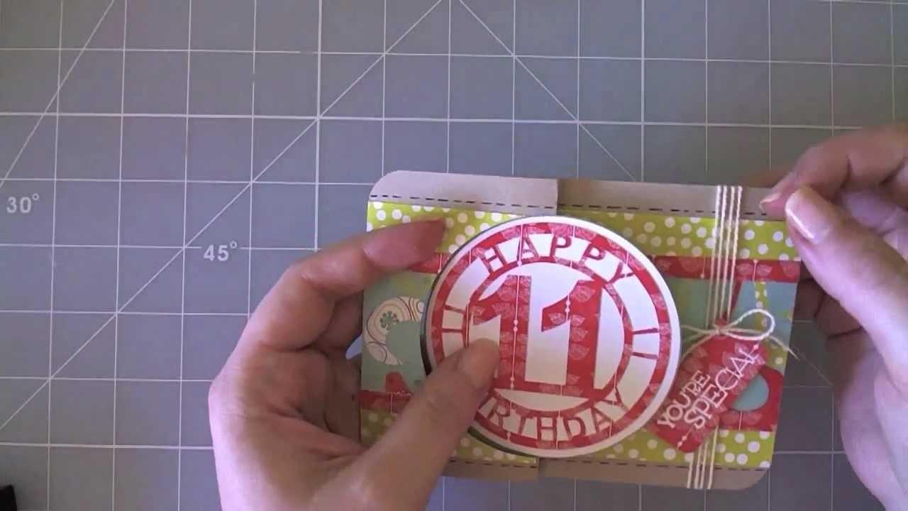 Flip card - Happy Birthday