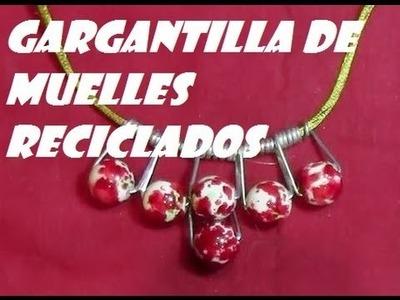 GARGANTILLA CON MUELLES DE PINZAS