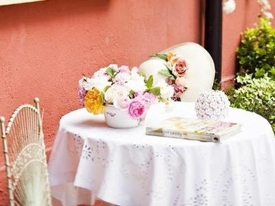 Ideas de decoración para centros de mesa