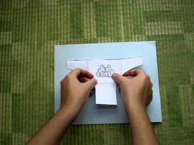 JosiCraft - Sobre en forma de pañal